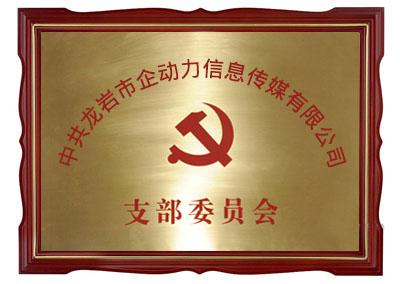 中共龙岩市企动力信息传媒有限公司支部委员会