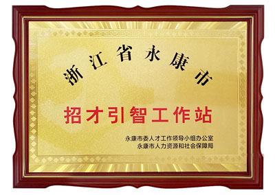 浙江省永康市招才引智工作站